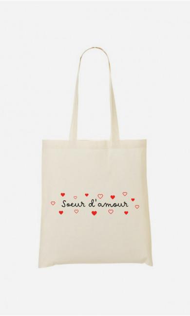Tote Bag Sœur d'Amour