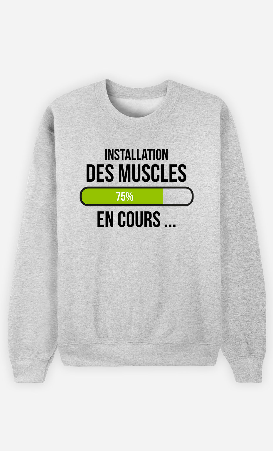 Sweat Homme Installation Des Muscles