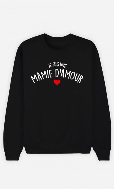 Sweat Femme Une Mamie D'amour