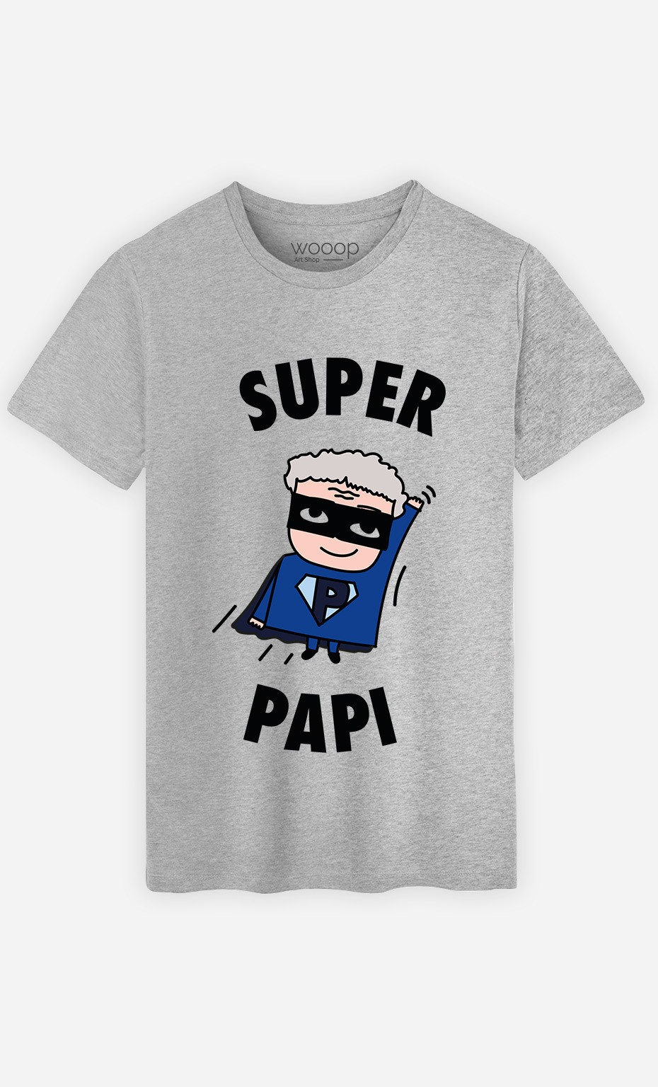 T-Shirt Homme Super Papi