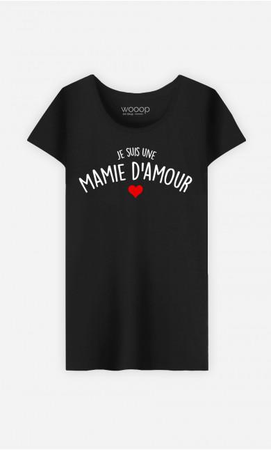 T-Shirt Femme Je Suis Une Mamie D'amour