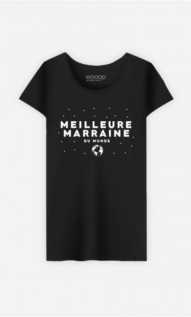 T-Shirt Femme Meilleure Marraine Du Monde