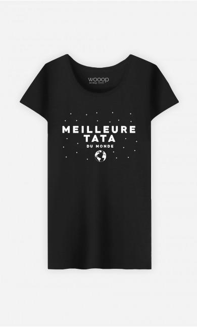 T-Shirt Femme Meilleure Tata Du Monde