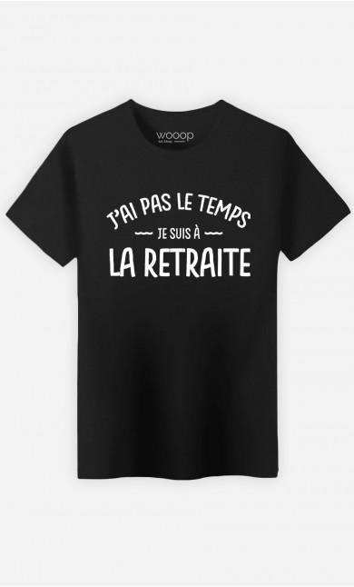 T-Shirt Homme Je Suis à La Retraite