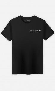 T-Shirt Homme Pas Du Matin - Brodé