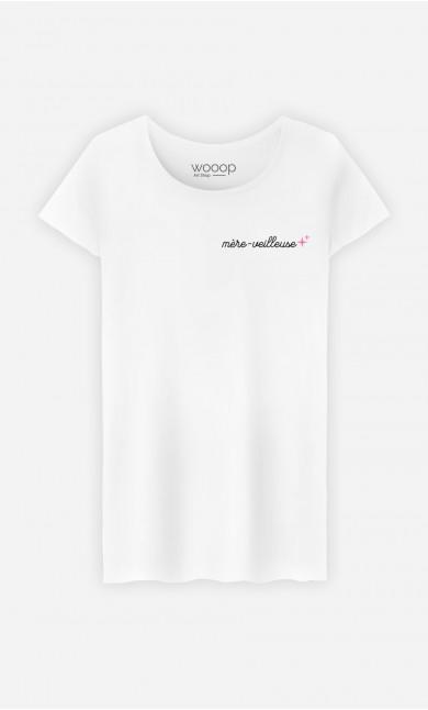T-Shirt Femme Mère-veilleuse - Brodé