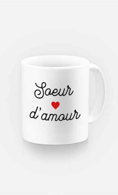 Mug Sœur D'amour Petit Cœur