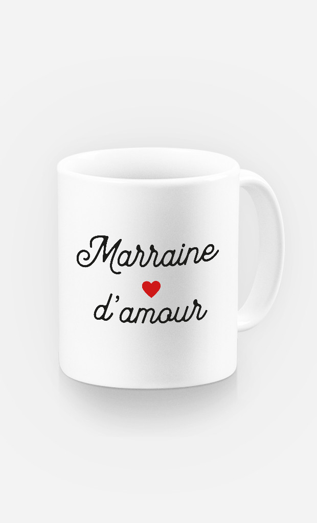 Mug Marraine D'amour Petit Cœur