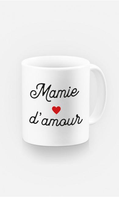 Mug Mamie D'amour Petit Cœur