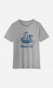 T-Shirt Enfant Swimming Poule
