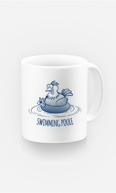 Mug Swimming Poule