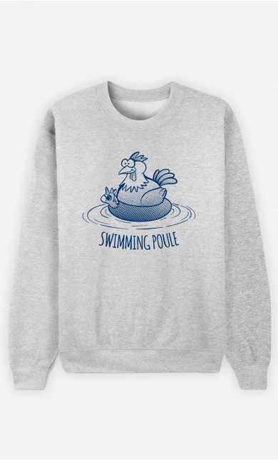 Sweat Femme Swimming Poule