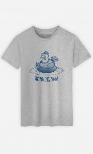 T-Shirt Homme Swimming Poule