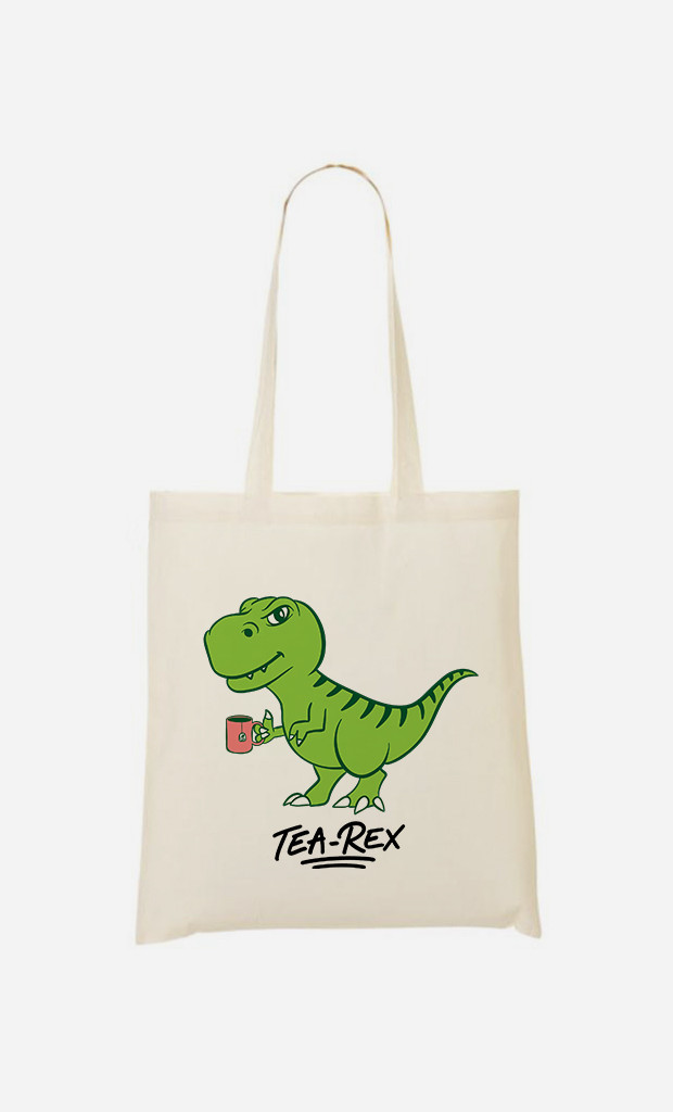 Tote Bag Tea Rex