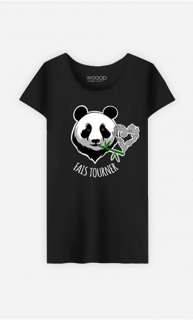 T-Shirt Femme Fais Tourner