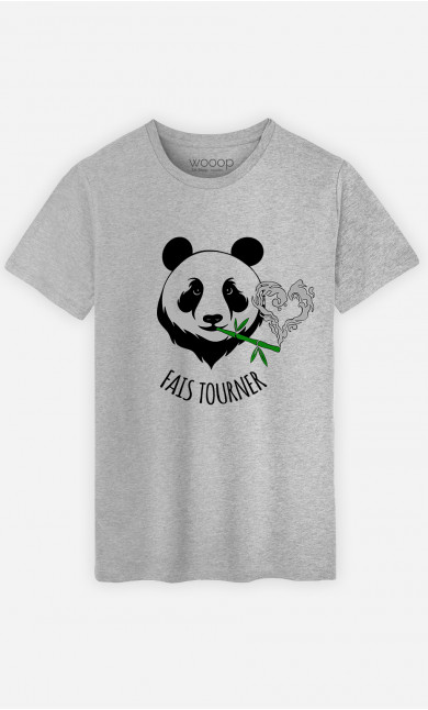 T-Shirt Homme Fais Tourner