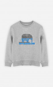 Sweat Enfant Thirsty Elephant