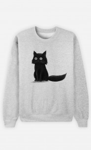 Sweat Homme Sitting Cat