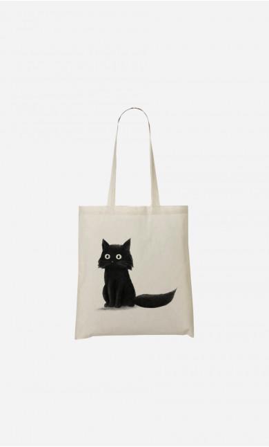 Tote Bag Sitting Cat