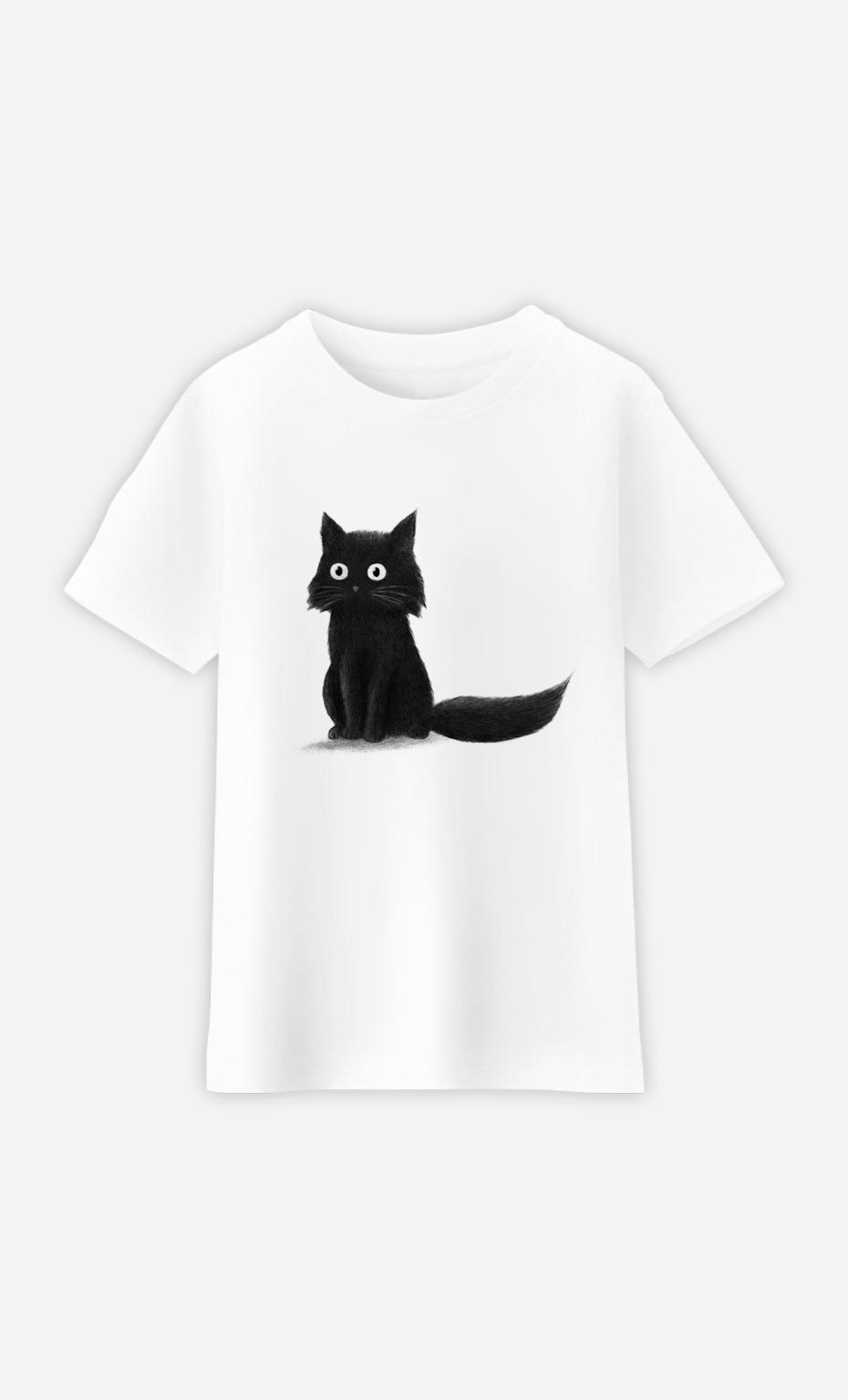 T-Shirt Enfant Sitting Cat