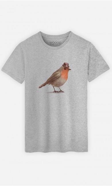 T-Shirt Homme Dapper Robin