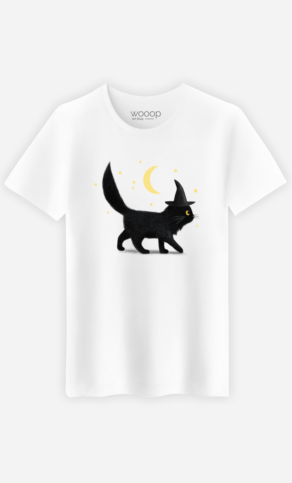 T-Shirt Homme Halloween Cat