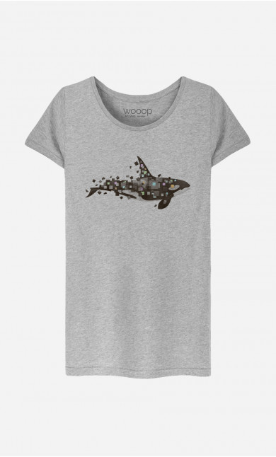 T-Shirt Femme Killer Whale