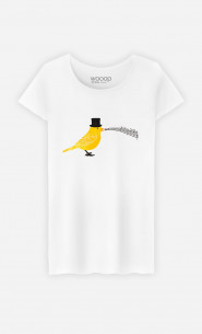 T-Shirt Femme Classical Canari