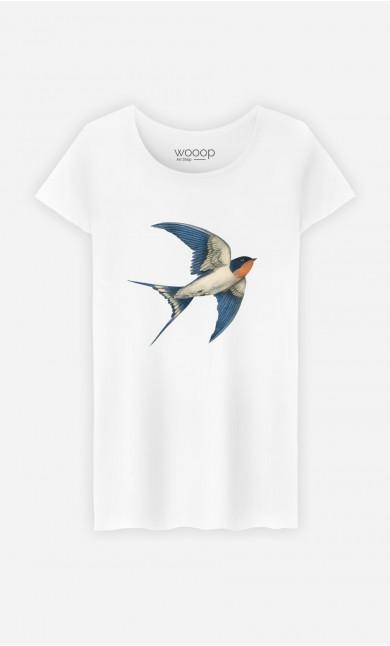 T-Shirt Femme Barn Swallow