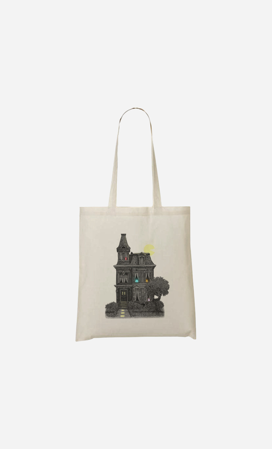 Tote Bag Haunted By The 80s