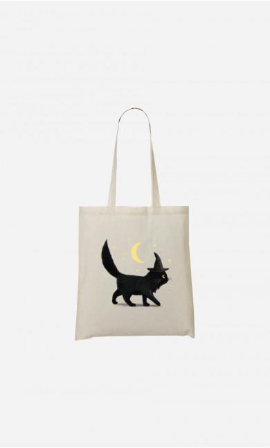 Tote Bag Halloween Cat