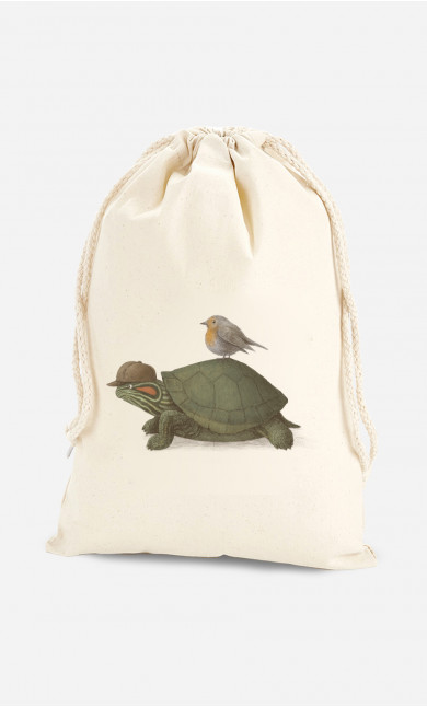Pochon Turtle And Bird