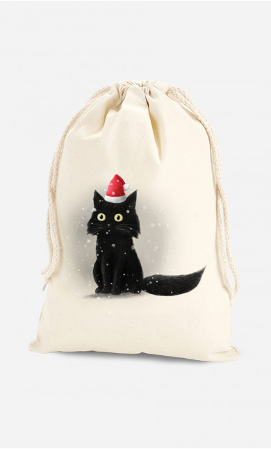 Pochon Christmas Cat