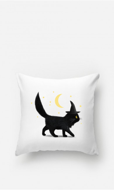 Coussin Halloween Cat