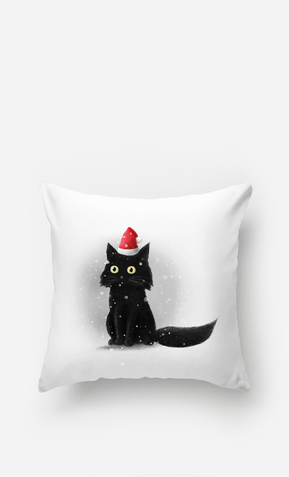 Coussin Christmas Cat