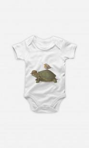 Body Bébé Turtle And Bird