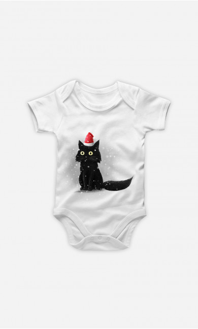 Body Bébé Christmas Cat