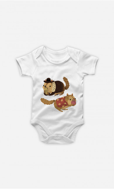 Body Bébé Chip And Dale