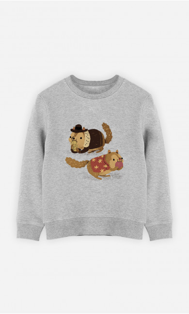 Sweat Enfant Chip And Dale