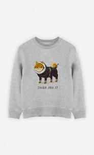 Sweat Enfant Shiba Inuit
