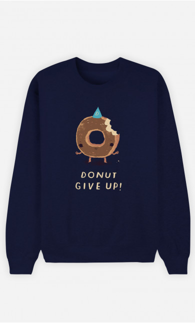 Sweat Femme Donut Give Up