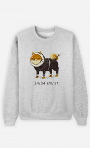 Sweat Femme Shiba Inuit