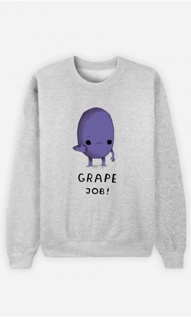 Sweat Homme Grape Job