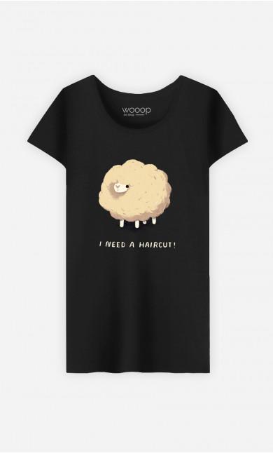 T-Shirt Femme Haircut Sheep
