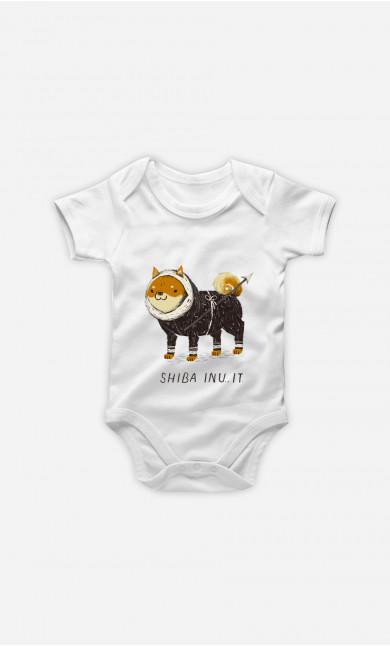 Body Bébé Shiba Inuit