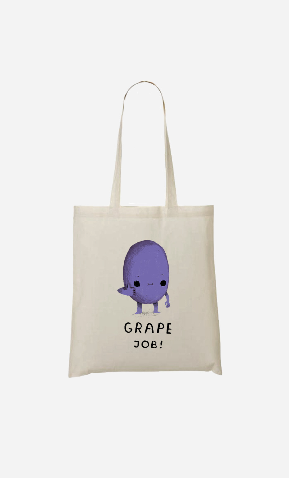 Tote Bag Grape Job