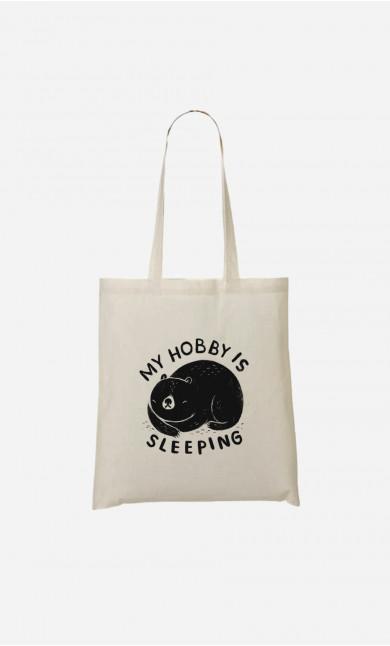 Tote Bag My Hobby Is Sleeping