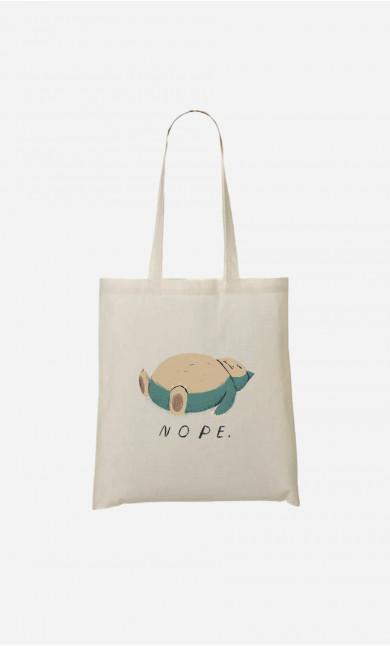 Tote Bag Nope