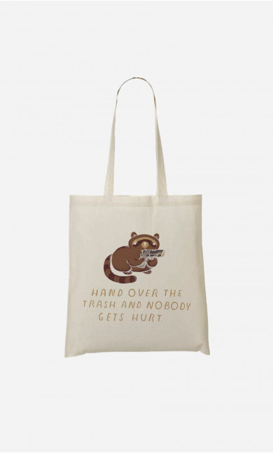 Tote Bag Raccoon