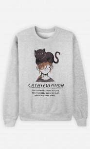 Sweat Femme Catnipulation